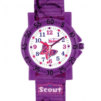 Scout Kinder Armbanduhr The IT-Collection - Schmetterling