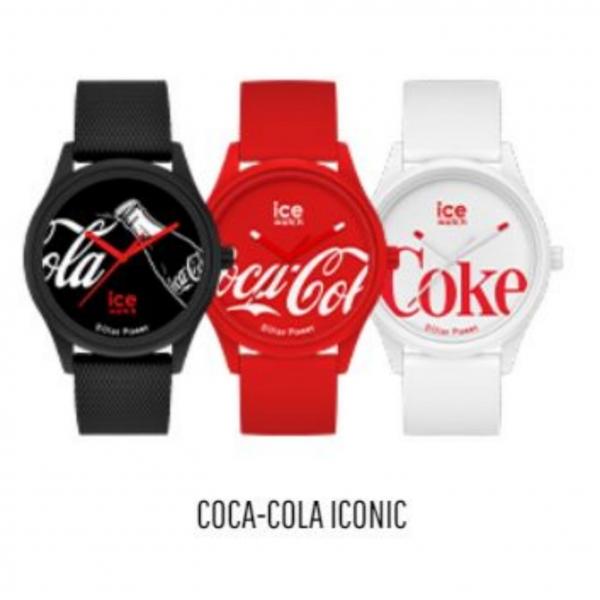 ICE-WATCH  × COCA COLA - Black - MEDIUM
