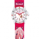 Scout Kinder Armbanduhr Action Girls - Pferd