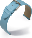 Uhrenarmband Nappa Fashion - hellblau